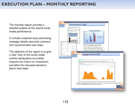 Strategy - Reporting & KPIs